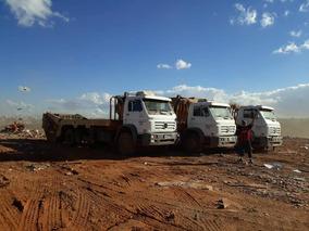13 Caminhões Poliguindaste Com 800 Caçambas Entulho