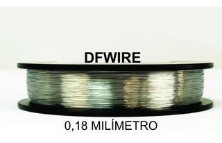 (dfwire) Fio Kanthal A1 0,20mm - (5 Metros) - Frete Gratis