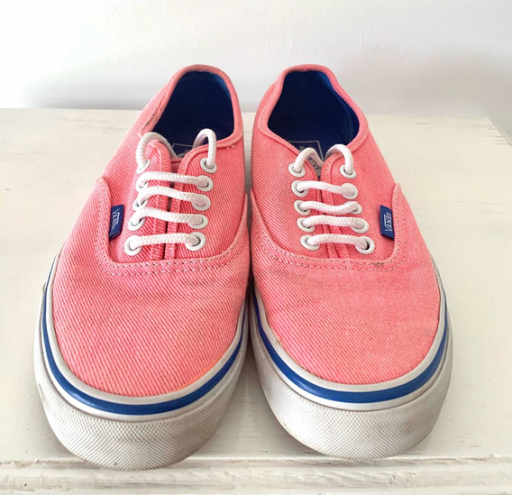 Zapatillas Vans Authentic Mujer, Impecables , Talle 38