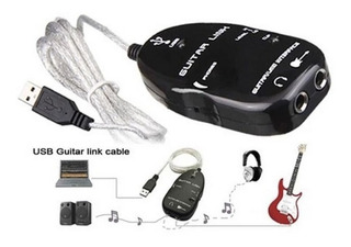 Adaptador Usb Guitarra Para Convertir El Pc En Amplificador.