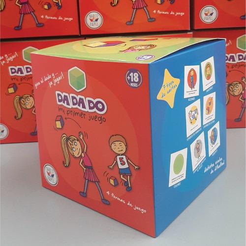 Dadado - Juego Niños Montessori - Barco De Papel