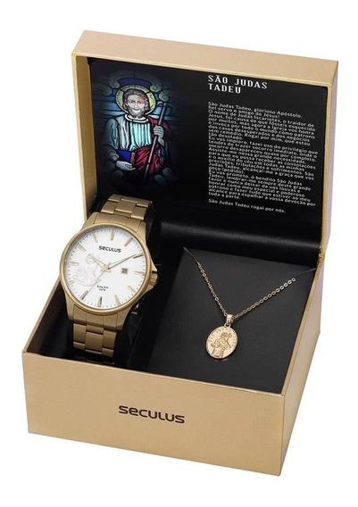Relógio Seculus Masculino Ref: 35014gpskda1 São Judas Tadeu