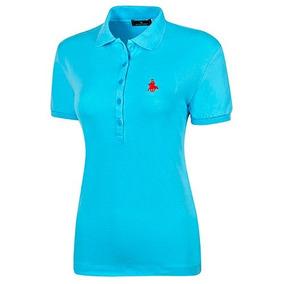 Playera Dama Polo Club 10101 Chi-xgd Azul 89018 T3