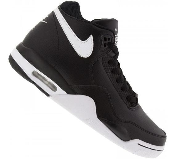 Tênis Nike Flight Legacy Masculino Preto E Branco - Basquete