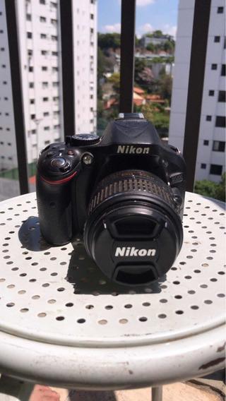 Câmera Profissional Nikon D5200 Tela Retrátil + Tripé