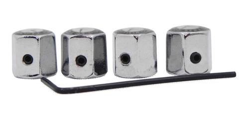 Set Tapas Aire Llanta Anti Robo, Audi, A1, A3, A4, A5, Q2
