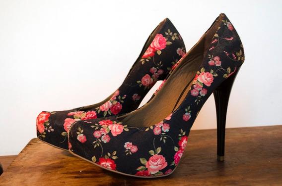 Scarpin Floral - Di Fiori - Tam. 39