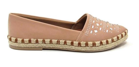 Sapatilha Alpargata Feminina Olfer Shoes 3109 Bico Fino