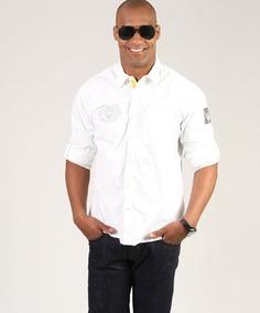 Camisa Everlast Manga Longa- Branca