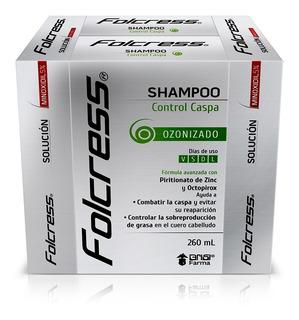 Kit Folcress 2 Shampoo De 260ml C/u + 2 Solución De 60ml C/u