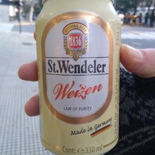 Cerveza Alemana St. Wendeler Trigo 330cc (caseros)