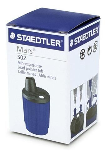 Imagen 1 de 8 de Sacapuntas Staedtler Mars 502 2mm