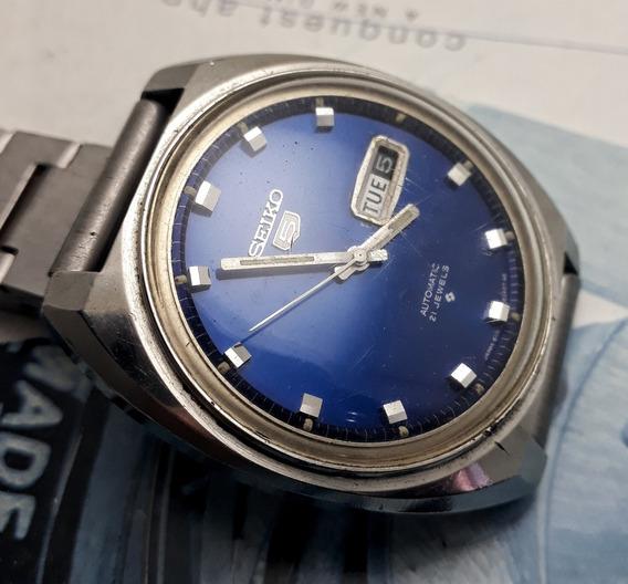 Relógio Seiko Automático Azul