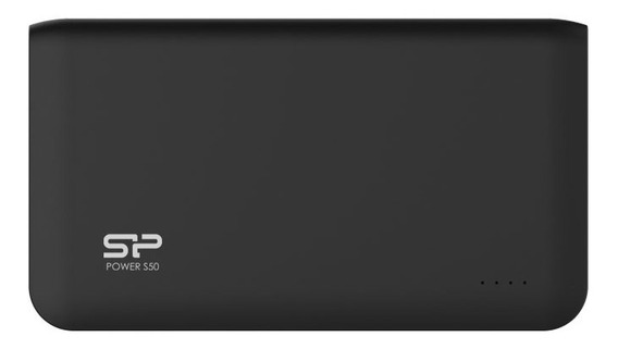 Silicon Power Power Bank S50 5000mah Negra Silicon Power