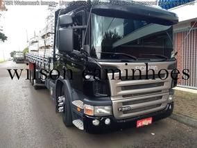 Scania P94 260 2000 Preta