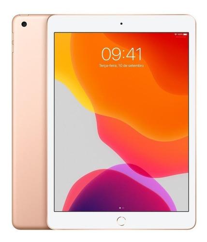 """iPad Apple 7ª Generación 2019 A2197 10.2"""" 32GB gold com memória RAM 3GB"""