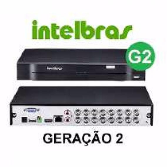 Dvr Intelbras 1016 16 Canais 720p Hdcvi + Hd 1tb Wd Purple