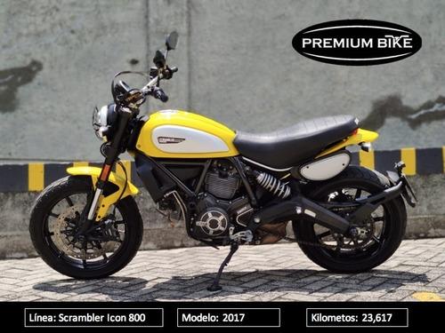 Ducati Scrambler Icon 800 Mod 2017
