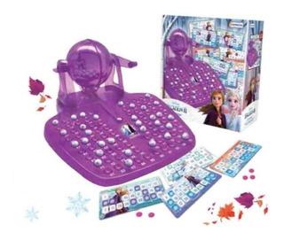 Juguete Juego Con Bolillero Lotobingo Frozen 2 Babymovil