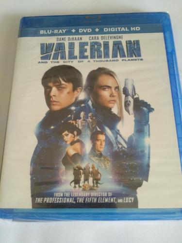 Imagen 1 de 2 de Valerian And The City Of A Thousand Planets Blu-ray Nuevo Se