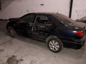 Toyota Corolla 1.8 Autom Chocado Dado De Baja.