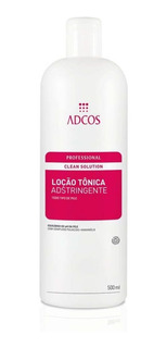 Adcos Clean Solution Loção Tônica Adstringente Adcos 500ml