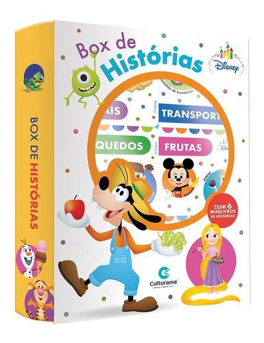 Imagem 1 de 4 de Box De Histórias Disney Baby