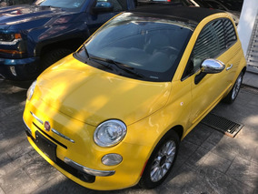 Fiat 500 1.4 Lounge Convertible At