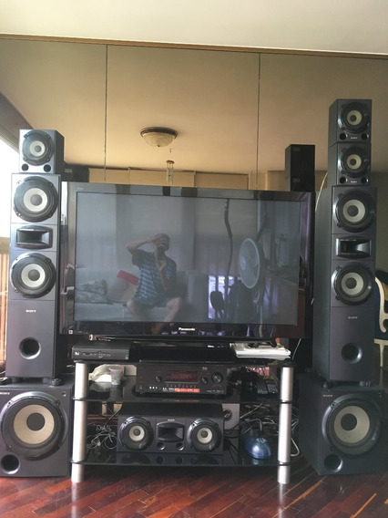 Home Theater Sony (6.2) 1510w. 8 Altavoces Con 11 Cornetas