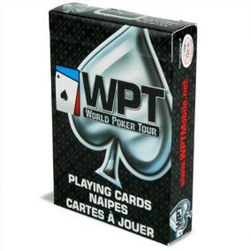 Baralho Branco E Preto World Poker Tour Wpt By Bee Cartas