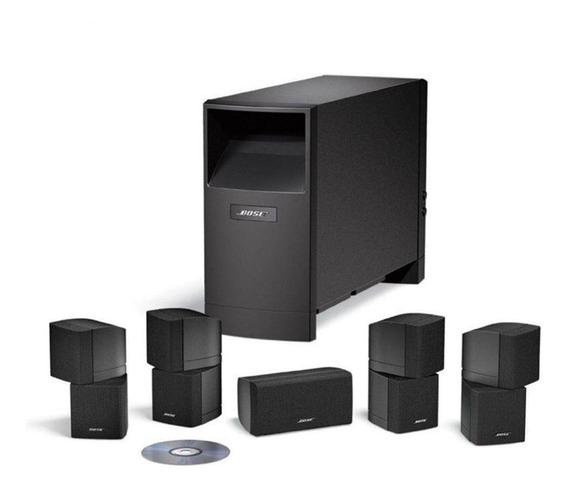Home Theater Bose Speaker Acoustimass 10 Series V Preto