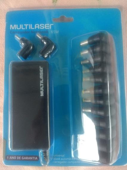 Carregador Universal Notebook Multilaser 14 Conectores 65w
