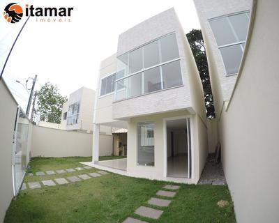 Excelente Casa A Venda No Bairro Praia Do Morro, Você Só Encontra Nas Imobiliárias Itamar Imoveis! Confira - Ca00226 - 33259277