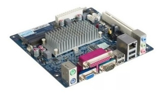 Placa Mãe Mini Itx Com Processador Intel Atom Integrado