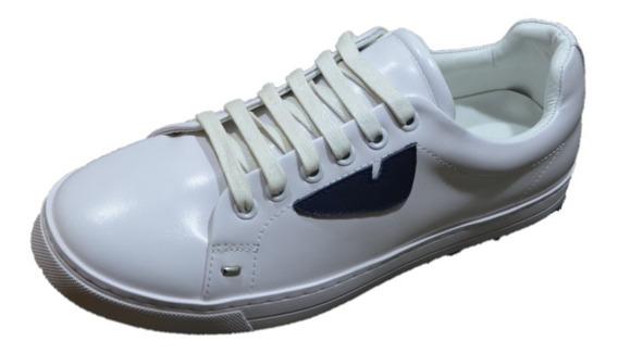 Tenis Sneakers Fendi Blanco + Envío Gratis