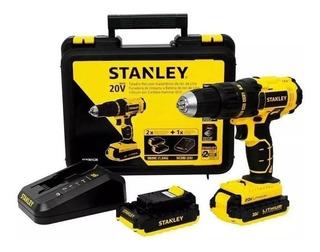 Taladro Atornillador Stanley 20v Scd201c2k 2bat 6 Cuotas S/i