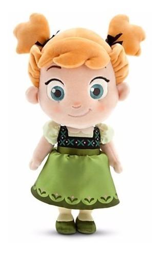 Disney Store Anna Criança Frozen Pelúcia Peq. 32.5cm