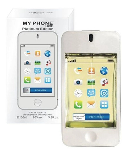 Perfume Mont'anne My Phone Luxe Platinum Edition Edt 100 Ml