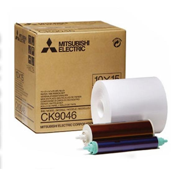 Papel Impresora Mitsubishi Ck9046 10x15 9800dw, 9550dw