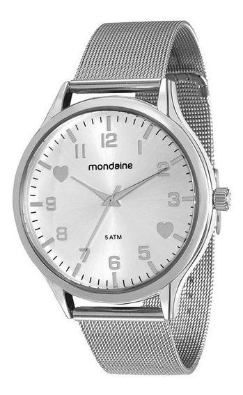 Relógio Mondaine Feminino Prata 76607l0mkne1 De Vltrine Foto