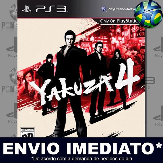 Yakuza 4 Ps3 Psn Jogo Em Promoção A Pronta Entrega Play 3