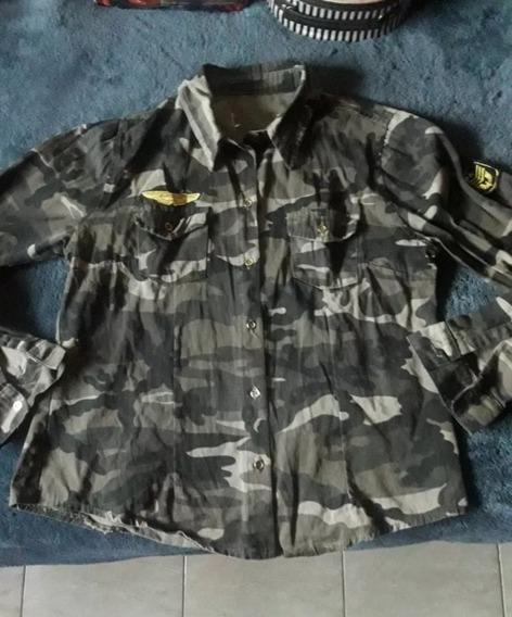 Camisa Militar De Mujer