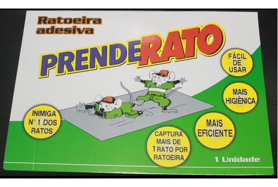 Ratoeira Adesiva Pega Ratos Baratas Escorpião E Muito Mais