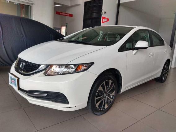 Honda Civic Exl 2013 At Blanco