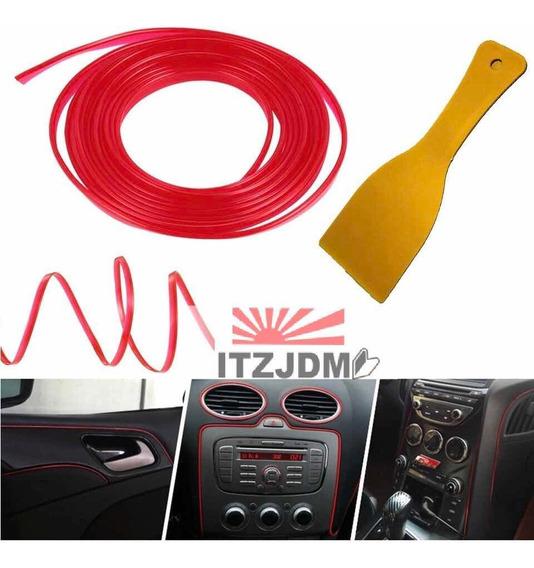 35off Moldura A Presion Auto Tuning Universal + Espátula 4m