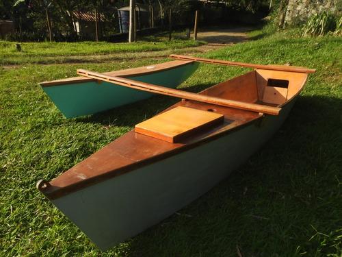 Barco Madeira / Bateira / Bote / Veleiro