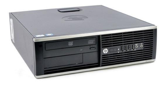 Pc Hp Intel Core I5 4gb Hd 500gb Sata Dvd Wi-fi P/ Trabalho