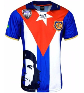 Camisa Madureira Comemorativa Oficial Che Guevara Cuba