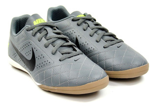 Tênis Indoor Beco 2 Cinza/preto/verde Nike 8553