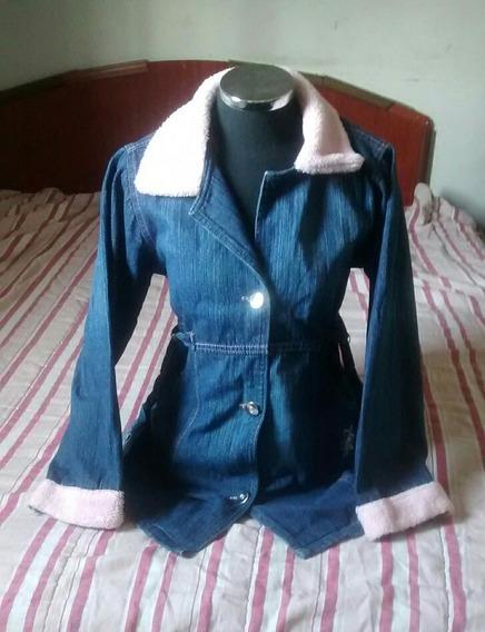 Blusão Jeans,ótimo Estado,infantil,feminino